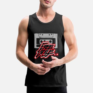 Freestyle Taśma freestyle - Premium tank top męski
