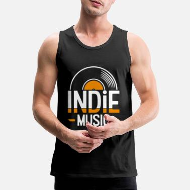 Indie Indie music - Men's Premium Tank Top