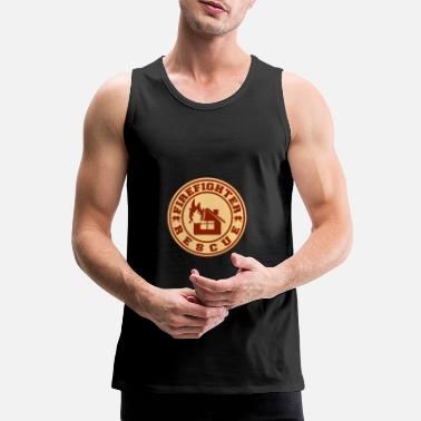 Redding Brandweerman redding - Brandweerman redding - Mannen premium tank top