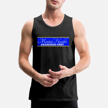 Mental Health Awareness First Mental Health Awareness First - Men's Premium Tank Top