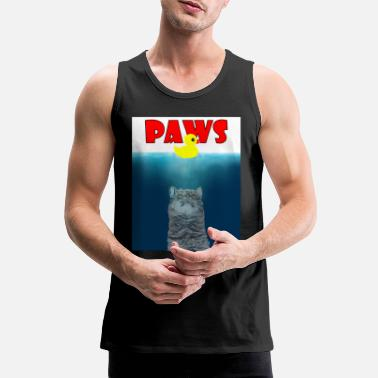 Paw Paws - Paws - - Men's Premium Tank Top