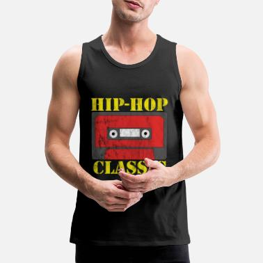 Old School Hip Hop Regalo classico old school hip-hop - Canotta premium da uomo