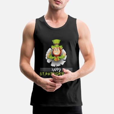 St Paddys Day Happy St Paddys Day - Men's Premium Tank Top