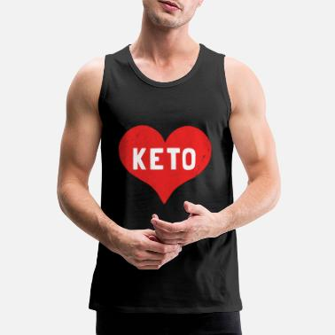 Keto Is Love - Men's Premium Tank Top
