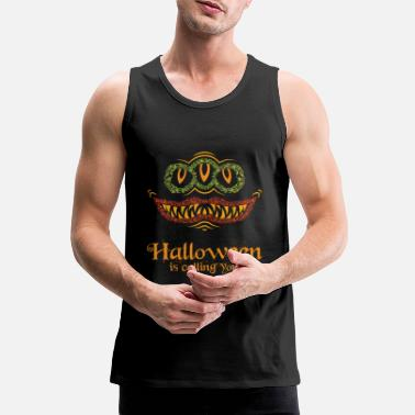 Fear Halloween holiday of the monsters - Men's Premium Tank Top