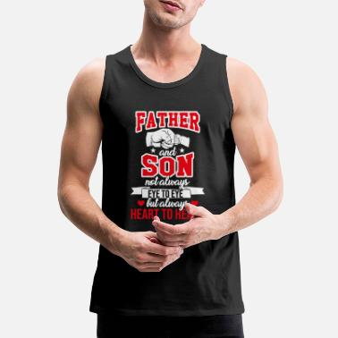 Son Father and son. Son of son - Men's Premium Tank Top