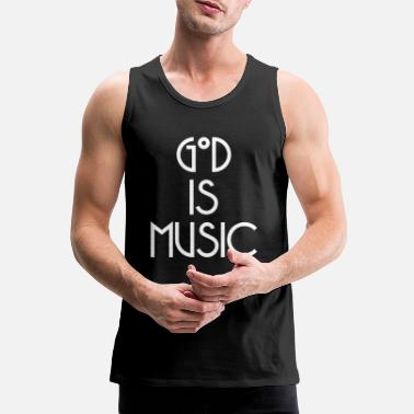 God God - Men's Premium Tank Top