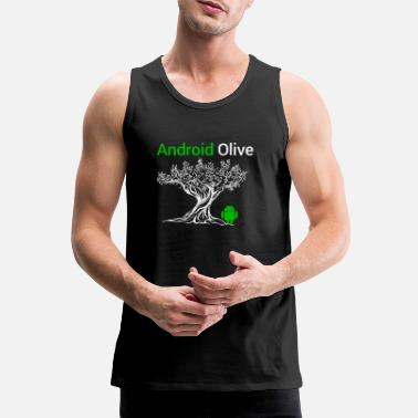 Android Android - Mannen premium tank top