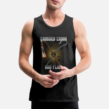 Crook Crook and flagellum - Men's Premium Tank Top