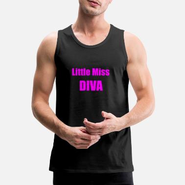 Little Miss Diva - Baby - Men's Premium Tank Top