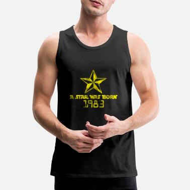 Born In Born 1983 Born Star Was Born Born in 1983 - Men's Premium Tank Top