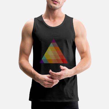 triangle - Men's Premium Tank Top