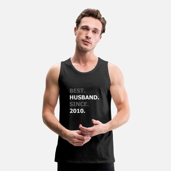 Gift Idea Tank Tops - Husband 2010 - Men's Premium Tank Top black