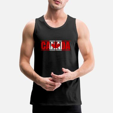 Leaf Canada maple leaf - Men's Premium Tank Top