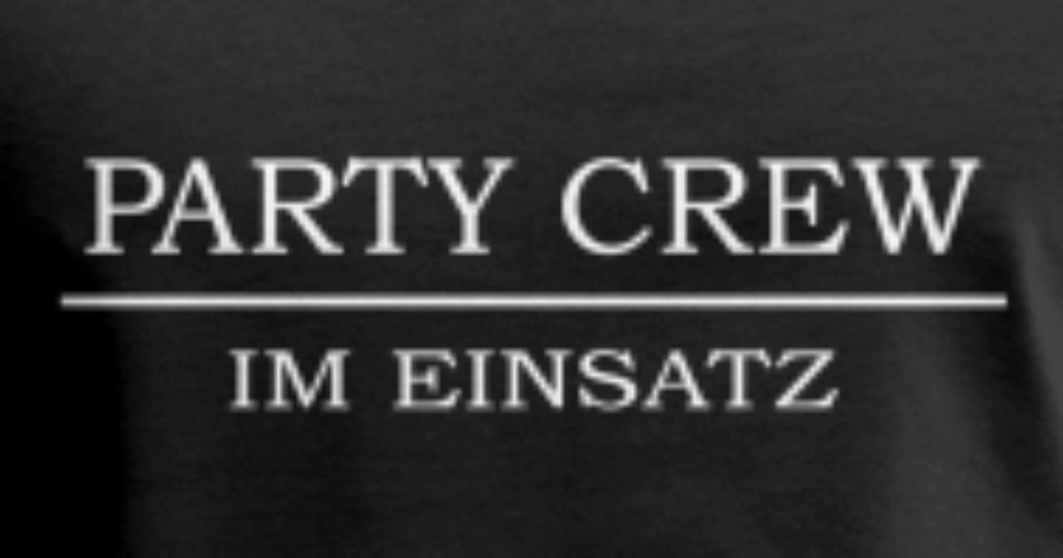 Party Crew 2017 Lustige Spruche Manner Premium Tanktop Spreadshirt