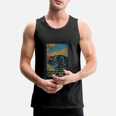 Animal Collection Gecko gift - Men's Premium Tank Top