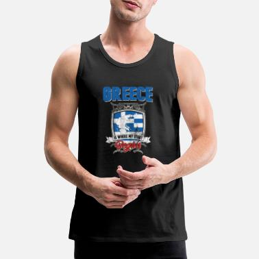 Greece Greece Greece - Men's Premium Tank Top