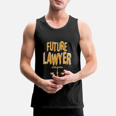 Robes Lawyer attorney law judge gift 1 - Men's Premium Tank Top