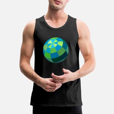 Ball ball - Men's Premium Tank Top