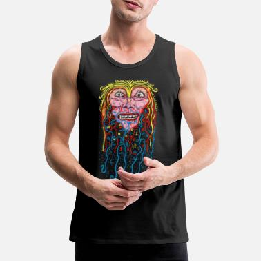 Psychedelic The big Mormak - Men's Premium Tank Top