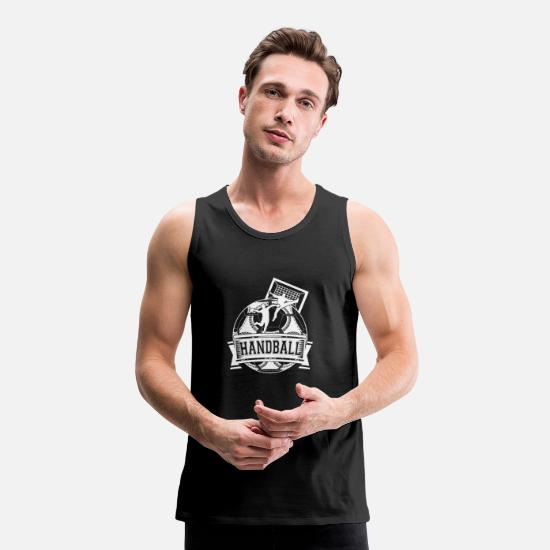 2019 Tank Tops - Handball Handballer Gift Handball Team - Men's Premium Tank Top black