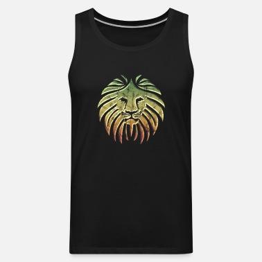 a3a137f628 COMO UN LEÓN Reggae Lion Rasta Revolution Music Camiseta premium ...