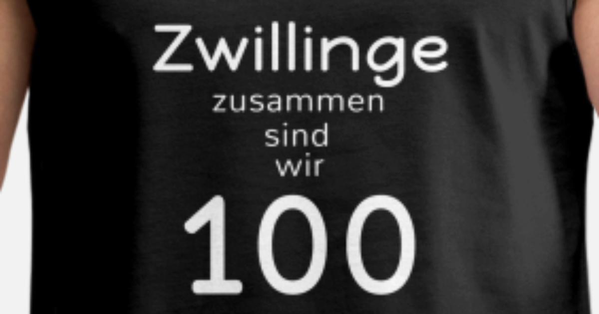 Geburtstag 50 Jahre Zwillinge Lustig Fun Geschenk Von Spreadshirt