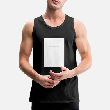 Image This Image is no longer available - Men's Premium Tank Top