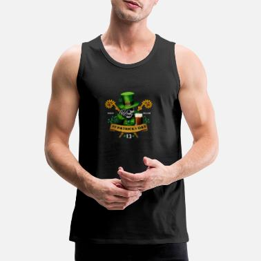 Kiss IRISHCONTEST T - Men's Premium Tank Top