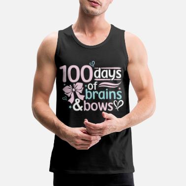 Start Happy 100th day of school - Men's Premium Tank Top