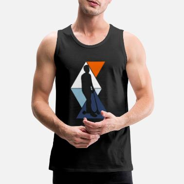 Scooter Driver Driver scooter - Men's Premium Tank Top