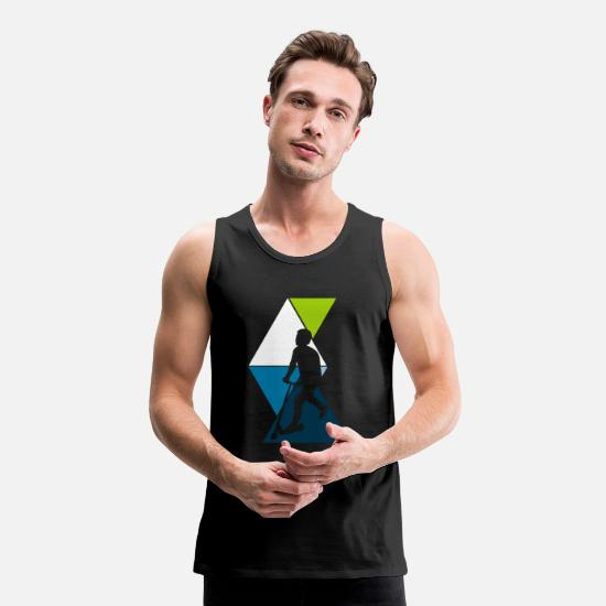 Roller Sports Tank Tops - scooter - Men's Premium Tank Top black