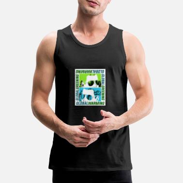 Global Global Warming or Global Greening - Men's Premium Tank Top
