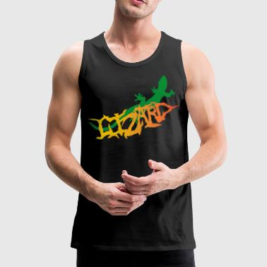 lizard - Men's Premium Tank Top