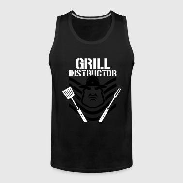 GRILL INSTRUCTOR B - Männer Premium Tank Top