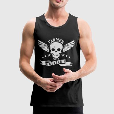 Farmer from Heaven - Men's Premium Tank Top