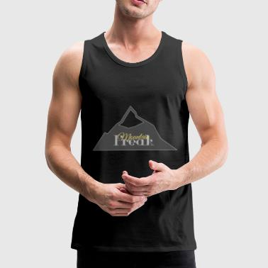 Mountain Freak - Premium singlet for menn