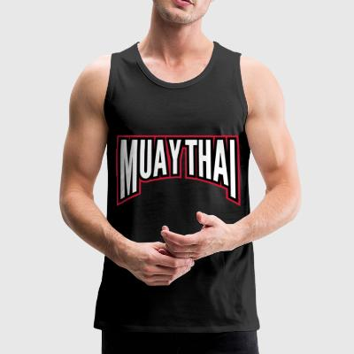 muay thai - Men's Premium Tank Top