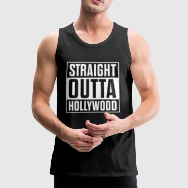 Straight outta Hollywood - Männer Premium Tank Top
