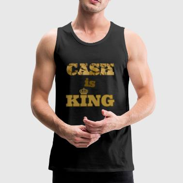 cash is king - Men's Premium Tank Top