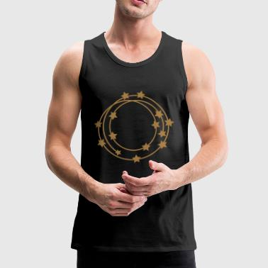 Circle frame - Men's Premium Tank Top