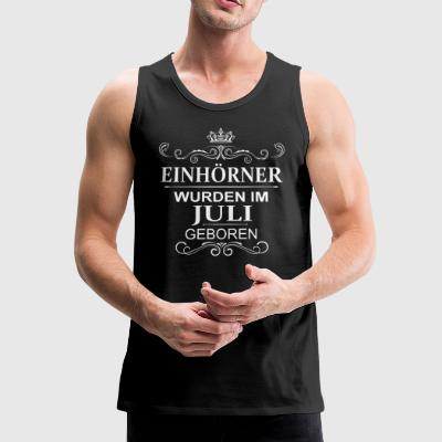 JULI unicorns - Men's Premium Tank Top