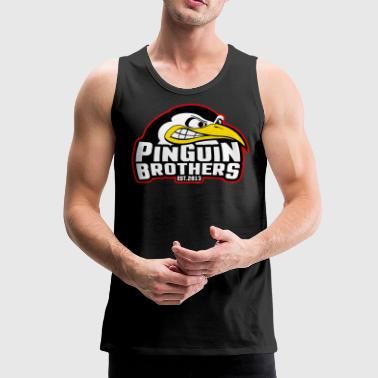 Clan Pinguin-Brothers - Mannen Premium tank top