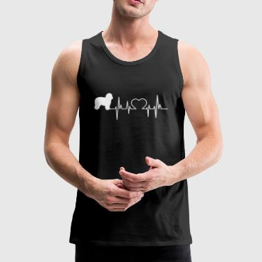 Spaanse Water Hond giftoverhemd - Mannen Premium tank top