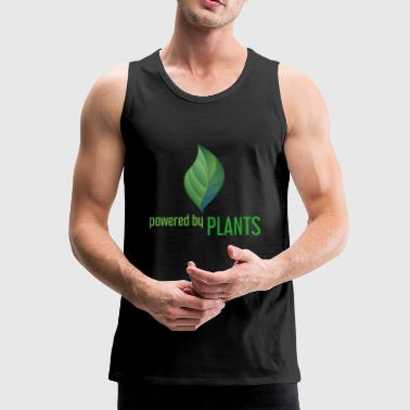 Powered by Plants - Men's Premium Tank Top