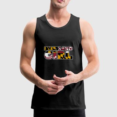chica Maryland - Tank top premium hombre