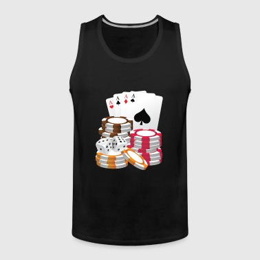 Poker shirt - Men's Premium Tank Top