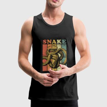 Snake Gift Animal Gift Cobra Boa Mamba - Men's Premium Tank Top