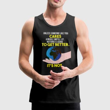 Earth Day / Earth Day Safe Trees Gift - Men's Premium Tank Top
