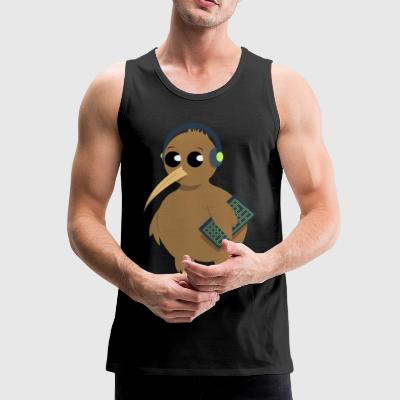 QIWEE Without shadow - Men's Premium Tank Top